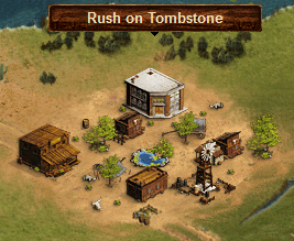 Rush on Tombstone